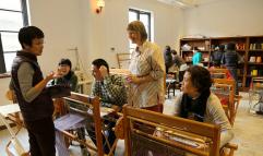 Weaving class. © Jin Ze Arts Centre, Shanghai