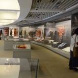 From the collection of Yoshiko Wada and Andres Moraga, the World Shibori and Ikat exhibition hall