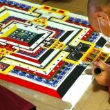 A Tibetan sand mandela at Jin Ze