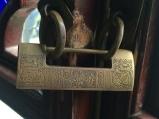 Chinese lock. Photo courtesy of Amy Putansu.